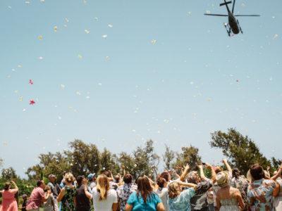 Behind The Scenes At Hawaii Forest & Trail: Mokulanikila Wedding Photo Shoot