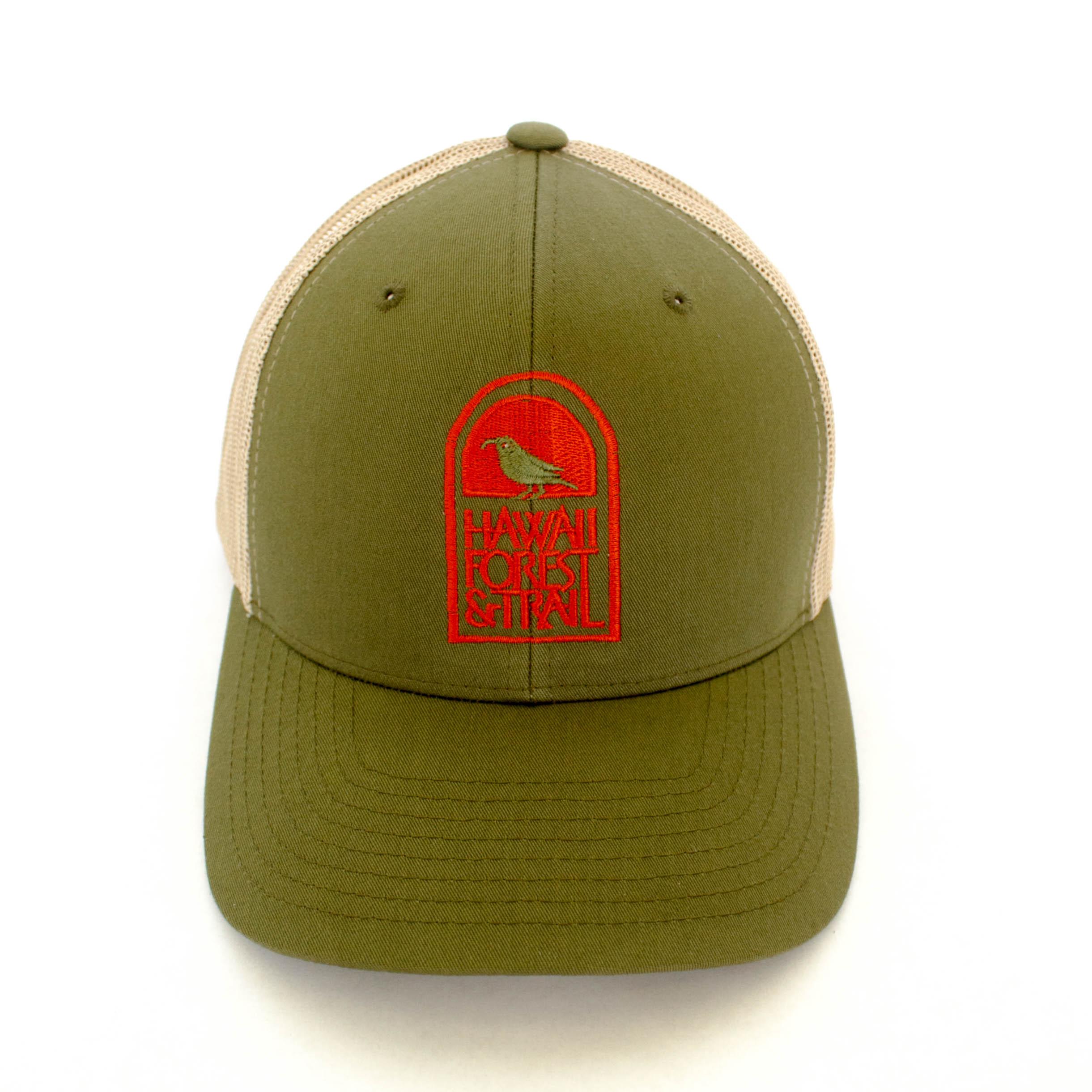 Logo Hat Orange Front