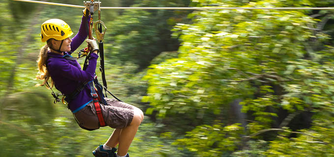 Hawaii Forest Tours - Zipline