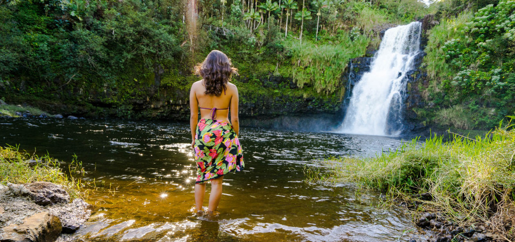 Image result for waterfalls in hilo kulaniapia falls