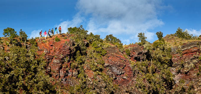 Take a hiking tour and Discover Hidden Craters!